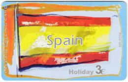 GREECE F-790 Prepaid Amimex - Flag Of Spain - Used - Grèce