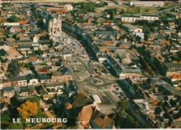 27 - LE NEUBOURG - VUE AÉRIENNE DU CENTRE VILLE - Le Neubourg