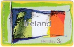 GREECE F-802 Prepaid Amimex - Flag Of Ireland - Used - Grèce