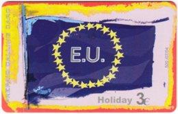 GREECE F-806 Prepaid Amimex - Flag Of European Union - Used - Grèce