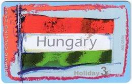 GREECE F-807 Prepaid Amimex - Flag Of Hungary - Used - Grèce