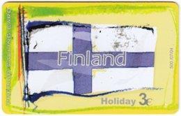 GREECE F-810 Prepaid Amimex - Flag Of Finland - Used - Grèce