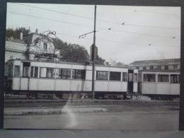Hendaye Tramways Motrice Et Remorque Cliché De J Chapuis Photo N°3 - Trenes