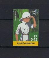 N°3048ND Tintin (genummerd 67) MNH ** POSTFRIS ZONDER SCHARNIER COB € 325,00 SUPERBE - Belgique