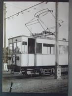 Hendaye Tramways Motrice Vue Avant Et Arrière Cliché De J Chapuis Photo N°2 Et 1 - Trenes