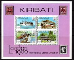 Kiribati 1980 London '80 Stamp Exhibition MS, MNH, SG 116 (BP2) - Kiribati (1979-...)