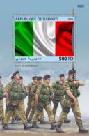 Djibouti 2018, Italian Army, BF - Francobolli
