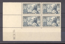 France  -  Coins Datés  :  Yv  313  **   18-5-36 - 1930-1939