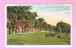 U.S.A. IOWA. CEDAR RAPIDS.   PORTION OF CAMPUS,MOUNT MERCY ACADEMY. - Cedar Rapids