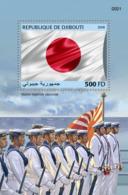 Djibouti 2018, Japanese Army, BF - Francobolli