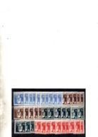 Italie YT N° 196/199 X Dix Séries Neufs ** MNH. TB. A Saisir! - 1900-44 Vittorio Emanuele III