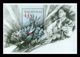 Czech Republic 2019 Mih. 1049 (Bl.79) Velvet Revolution (joint Issue Czech Republic-Slovakia) MNH ** - Unused Stamps