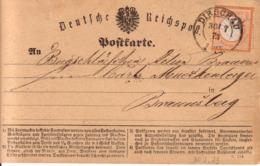 Carte Postale De Dirschau - Germany