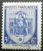 FRANCE Armoirie De Montpellier N°536 Oblitéré - 1941-66 Wappen