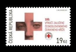 Czech Republic 2019 Mih. 1051 Medicine. Czechoslovak Red Cross MNH ** - República Checa