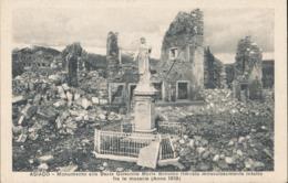 VICENZA-ASIAGO MONUMENTO ALLA BEATA GIOVANNA MARIA BONOMO ANNO 1919 - Vicenza