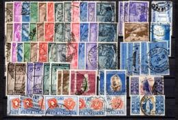 Italie Belle Collection De Bonnes Valeurs Oblitérées 1948/1952. B/TB. A Saisir! - Italy