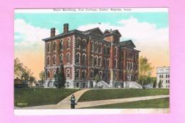 U.S.A. IOWA. CEDAR RAPIDS.  MAIN BUILDING,  COE COLLEGE. - Cedar Rapids