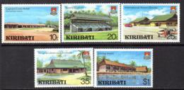 Kiribati 1980 Development Set Of 5, MNH, SG 136/40 (BP2) - Kiribati (1979-...)