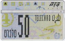 ISRAEL B-773 Hologram Bezeq - 345C - Used - Israel