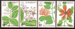 Kiribati 1981 Flowers Set Of 4, MNH, SG 141/4 (BP2) - Kiribati (1979-...)