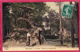 45 - MONTARGIS-----La Foret---Hutte De Charbonnier---animé - Montargis