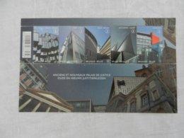 Planche De Timbres Neufs - Belgique - Anciens Et Nouveaux Palais De Justice - 2011 - Panes