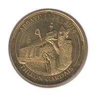28001 - MEDAILLE TOURISTIQUE MONNAIE DE PARIS 28 - Abbaye Thiron Gardais - 2014 - Monnaie De Paris