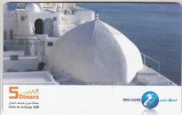 Tunisie Telecom 5 Dinars Carte De Recharge GSM - Tunisia