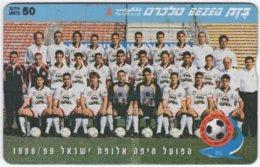 ISRAEL B-826 Hologram Bezeq - Sport, Soccer - 925B - Used - Israel