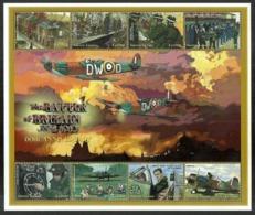 SIERRA LEONE 2000 MILITARY WORLD WAR II BATTLE OF BRITAIN AIRCRAFT SHEET MNH - Sierra Leone (1961-...)