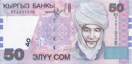 KIRGHIZISTAN 50 SOM 2002 UNC P 20 - Kirgizïe