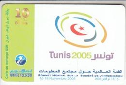 Tunisie Telecom 10 Dinars Carte De Recharge GSM - Tunisia