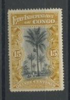 15c Palmier Etat Indépendant. N° 20 ** Sans Charnière. Cote 19-€ - 1894-1923 Mols: Neufs