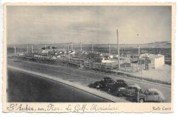 Carte-photo...St-Aubin-sur-Mer...le Golf Miniature...voitures ...2 Chx, Juva 4....années 60... - Saint Aubin