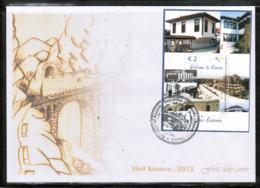 CEPT 2012 XK MI BL 21 KOSOVO FDC - Europa-CEPT