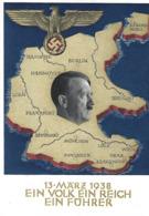 Deutschland  -  13 MÄRZ 1938  EIN VOLK EIN REICH EIN FÜHRER   2 Scans - Duitsland