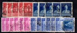 Italie YT N° 549/550 (5) Et N° 591/592 (6) Oblitérés. B/TB. A Saisir! - 6. 1946-.. Republic