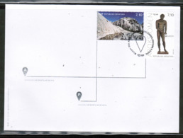 CEPT 2012 MI 1033-34 CROATIA FDC - 2012