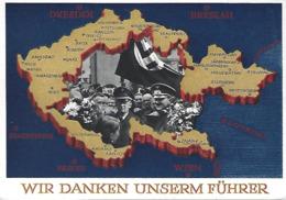 Deutschland  -  WIR DANKEN UNSEREM FÜHRER  2 Scans - Duitsland