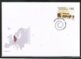 CEPT 2012 LI MI 1624 LIECHTENSTEIN FDC - 2012