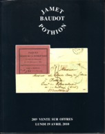 France Catalogue Vente JAMET-BAUDOT N° 205 Avril 2010 Comme Neuf ! - Cataloghi Di Case D'aste