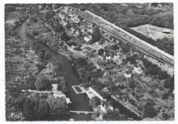 POITIERS ( 86 - Vienne ) - Vue Aérienne - Le Clain Et Le Quartier Sous Blossac Avec La Piscine - TB Etat - Poitiers