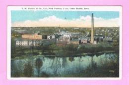 U.S.A. IOWA. CEDAR RAPIDS. T.M. SINCLAIR & CO., Ltd., PORK PACKING PIANT. - Cedar Rapids