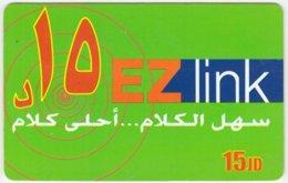 JORDAN A-554 Prepaid EZlink - Used - Jordanie