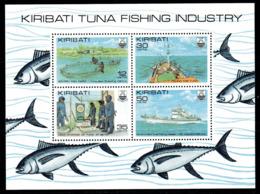 Kiribati 1981 Tuna Fishing Industry MS, MNH, SG 162 (BP2) - Kiribati (1979-...)