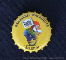 Bière Beer Bier Cerveza Cerveja Birra BRASSERIE D'ACHOUFFE Blonde Belgium - Bière