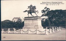 POSTAL JAPON - BRONZE STATUE OF MASASHIGE KUSUNOKI - TOKIO - Tokyo
