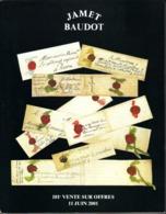 France Catalogue Vente JAMET-BAUDOT N° 181 Juin 2001 Comme Neuf ! - Cataloghi Di Case D'aste