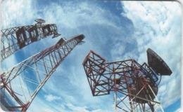 Venezuela, CAN2-0146-2, Repetidoras, Satelite Dish, 2 Scans. - Venezuela